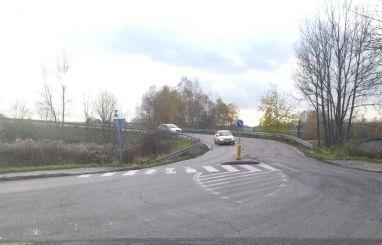 Łącznik ulicy Fabrycznej z DK 94 w Sławkowie (fot. AR)